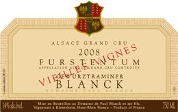 photo Paul Blanck Gewurztraminer Alsace Grand Cru Vieilles Vignes